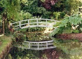 Completed Bridge Monet White