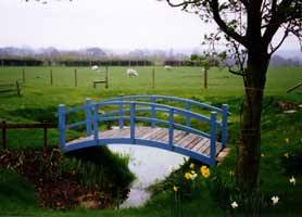Completed Bridge Monet Blue